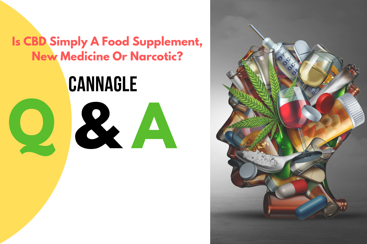 Is CBD Simply A Food Supplement, New Medicine Or Narcotic?
