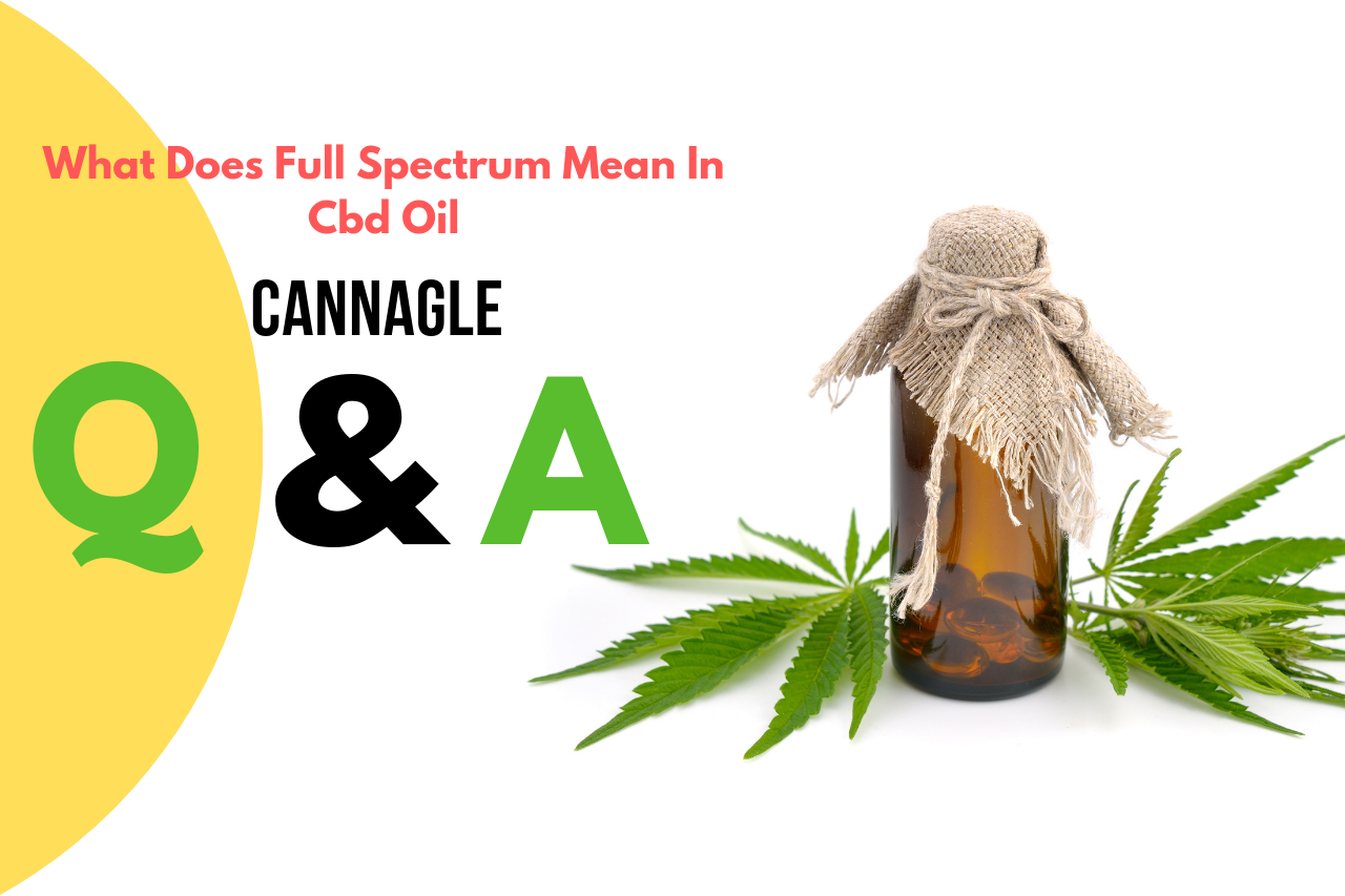 What Does Full Spectrum Mean In Cbd Oil