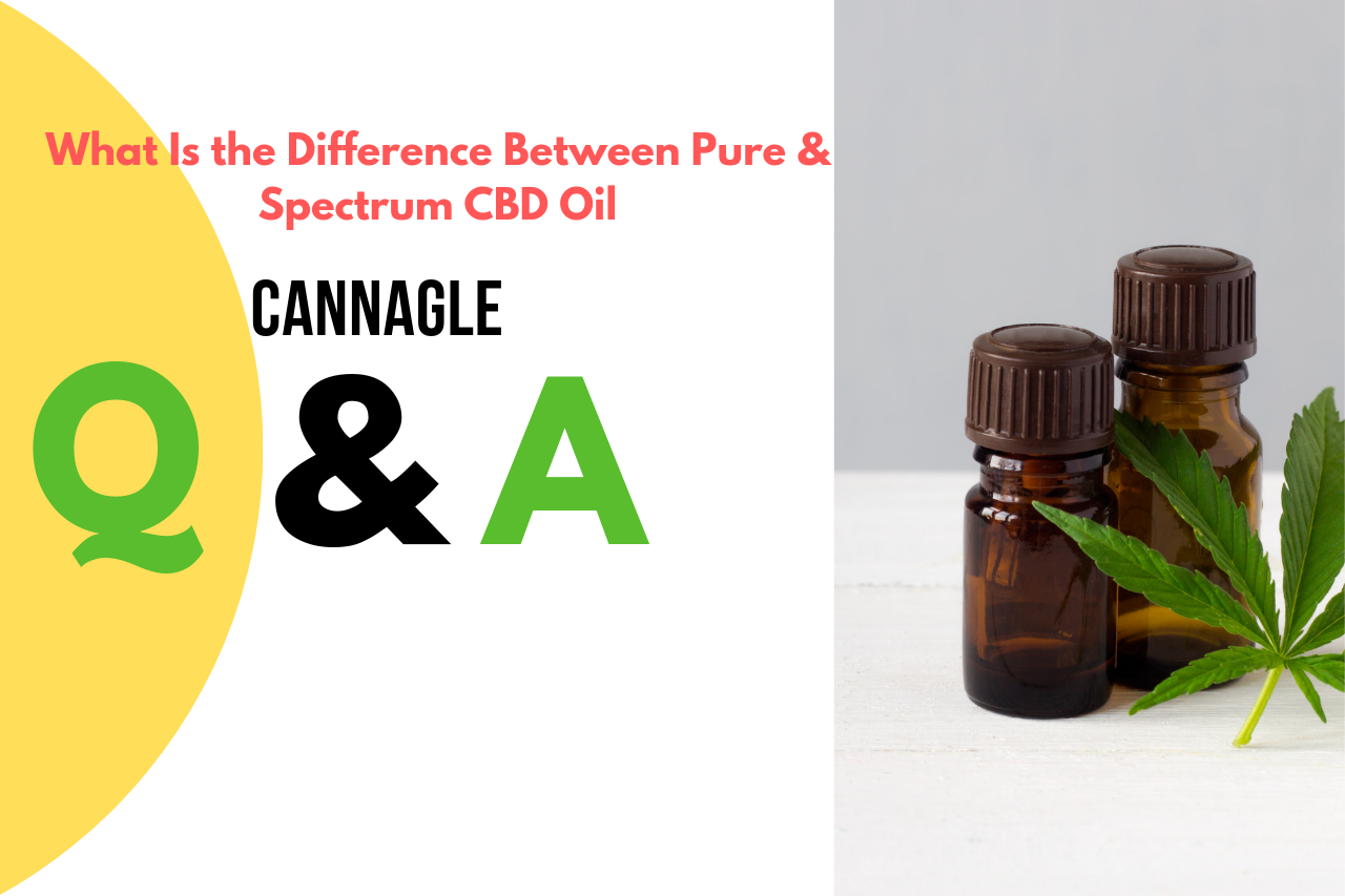 What Is the Difference Between Pure & Spectrum CBD Oil