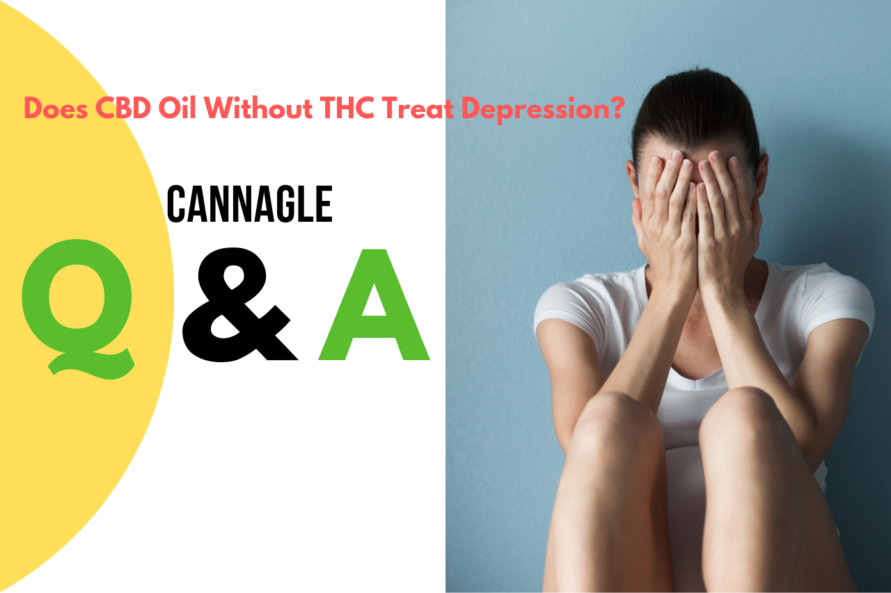 Does CBD Oil Without THC Treat Depression?