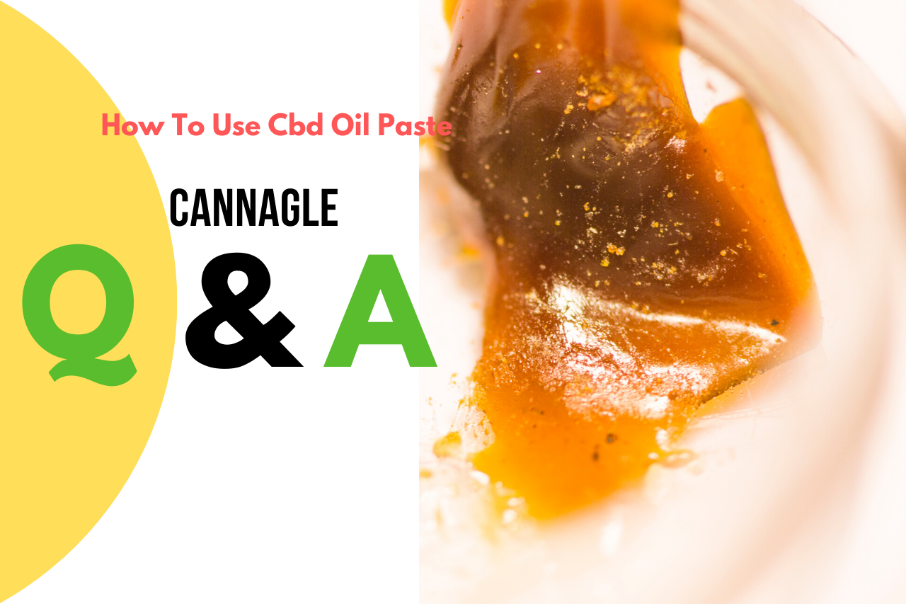 How To Use CBD Oil Paste